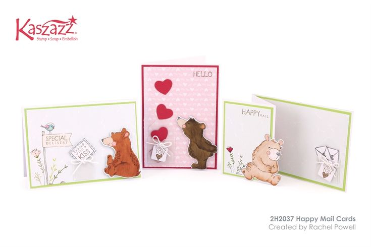 2H2037 Happy Mail Cards