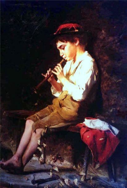 Suonatore di flauto (Boy Playing Flute)