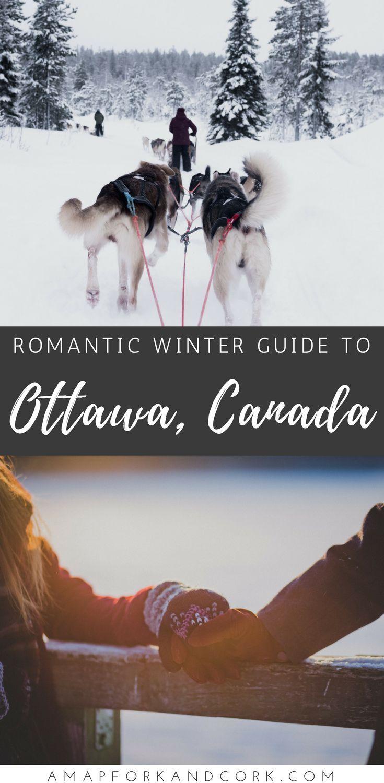 The complete guide to winter romance in Ottawa, Canada. #Travel #Ottawa #Canada