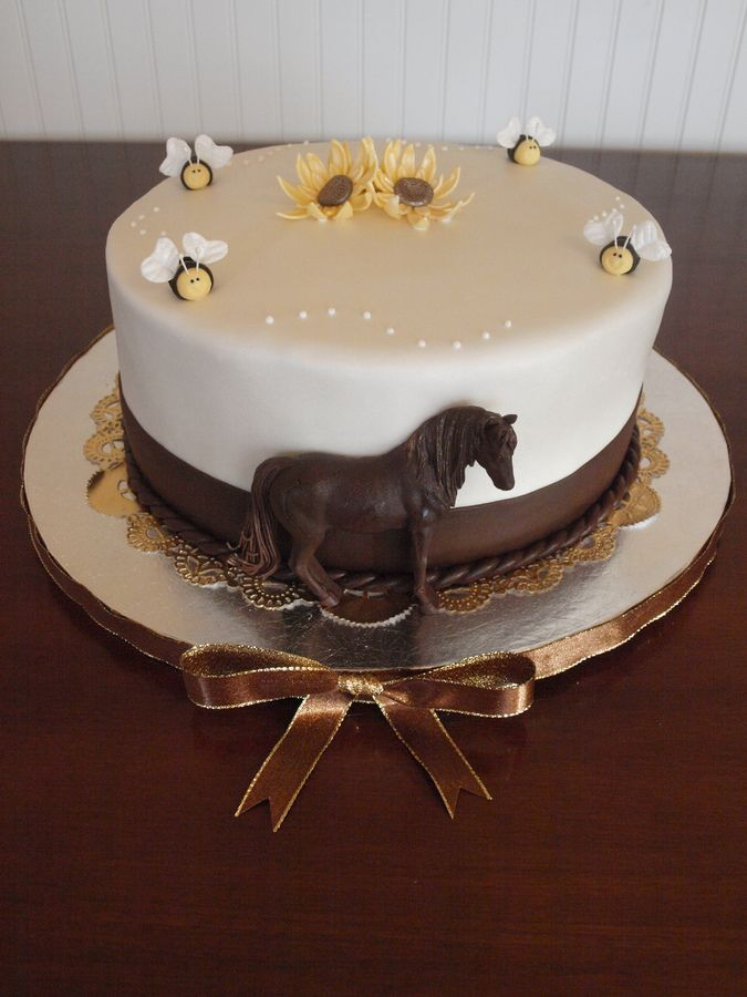 cowboy birthday cakes | western birthday cake this is a chocolate cake with nutella ...