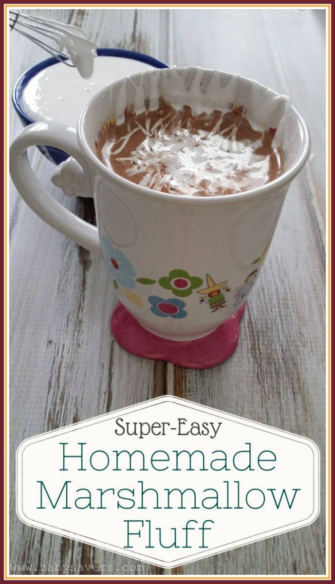 How to make marshmallow fluff - easy recipe with just 6 ingredients! Must check this out.