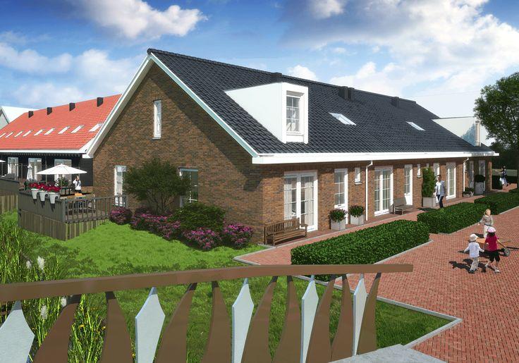Impressie van Erfhuizen in de Houtzagerij van Nobelhorst. #nobelhorst #nieuwbouw #almere