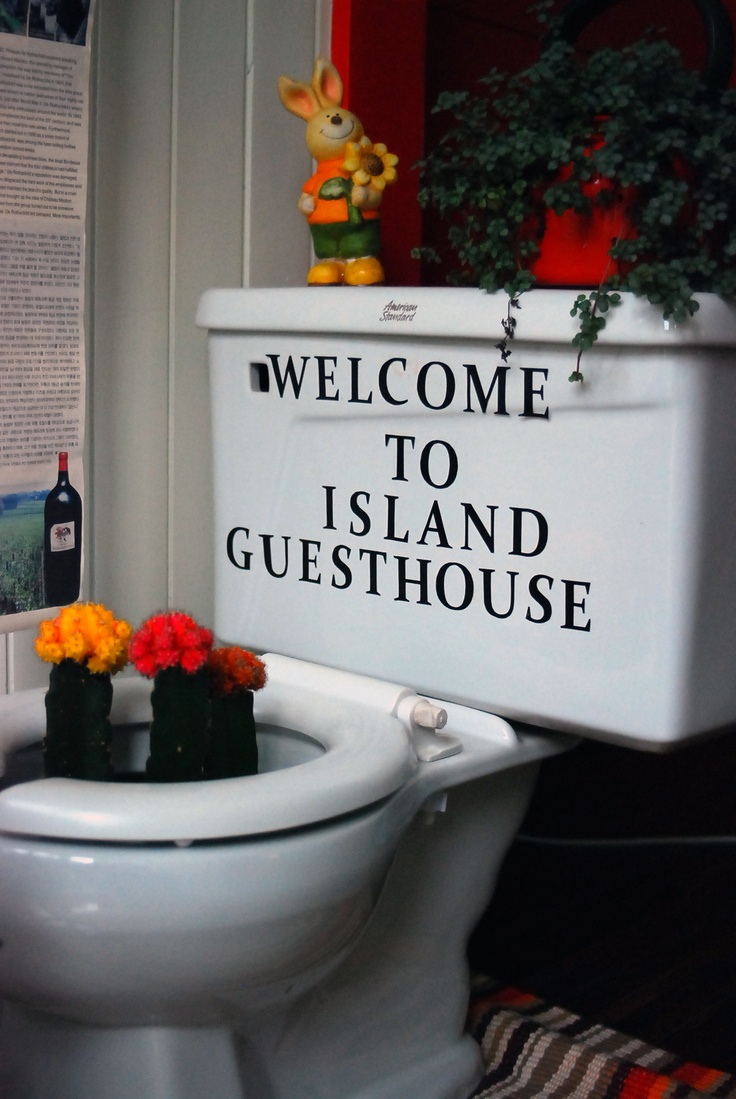 Island Guesthouse. It's realy nice!  http://islandguesthouse.kr