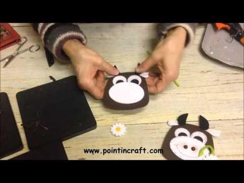 Gufo o Mucca? Mille modi di usare una fustella! - YouTube