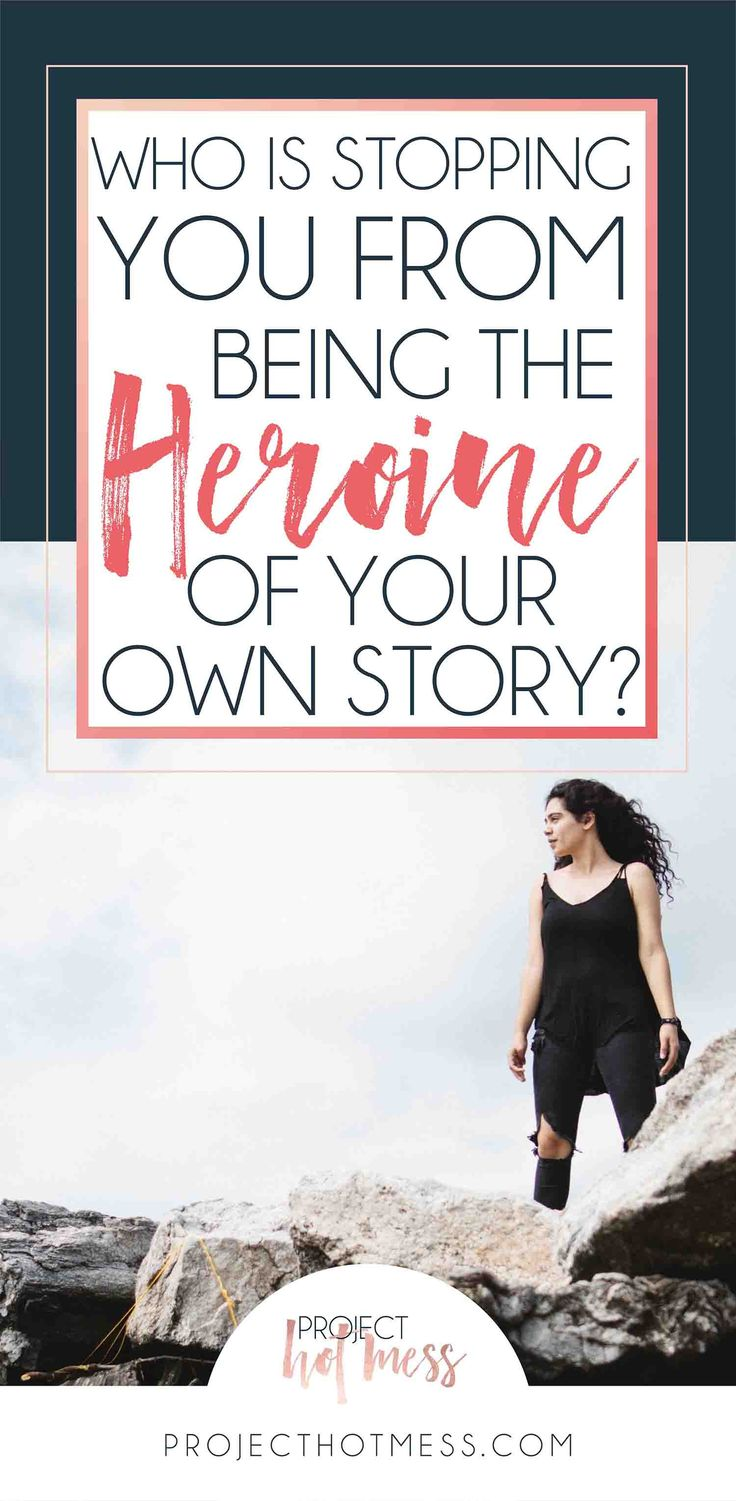 Do you ever wonder who is the Heroine of your story? Your life is your story, the one you get to live. Take control and start being the heroine right now, it's your story, make it however you want it to be.