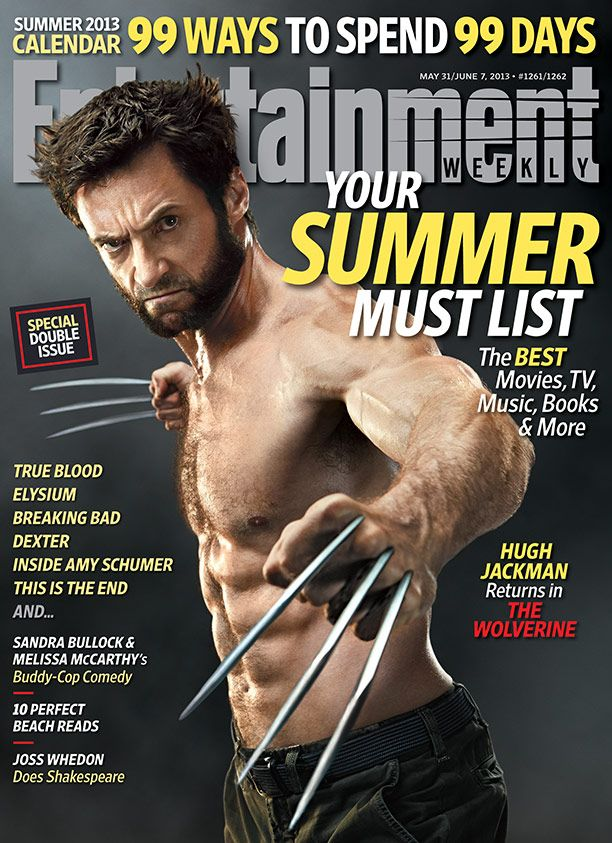 This Weeks Cover: The Wolverine tops your Summer Must List