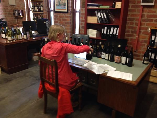 Jancis Robinson tasting some great wines from #Swartland on January 18, 2015 #SouthAfrica