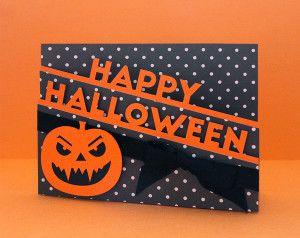 Halloween Edge Card