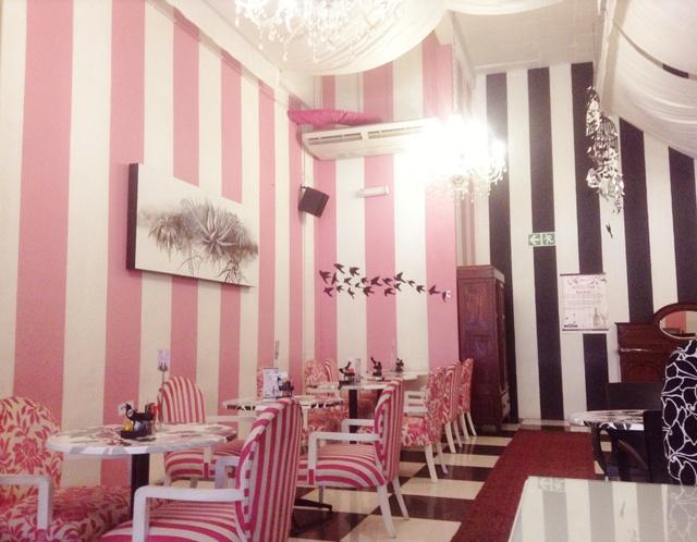 Love the interior of Isabella's Cake and Food Shop in Pretoria