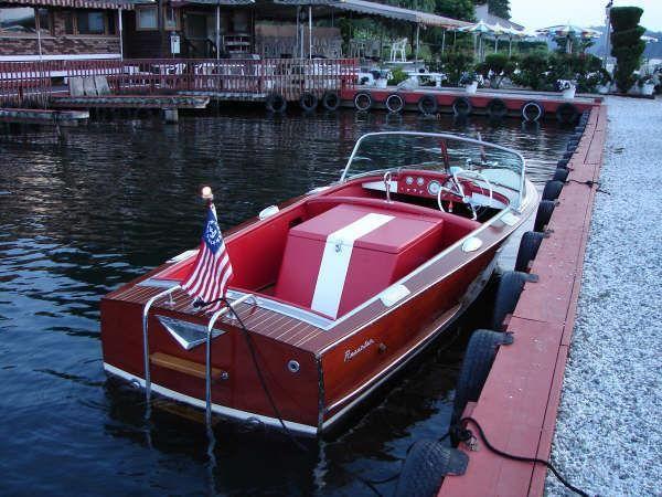 Ideal boat - 1960 mahogany Century Resorter