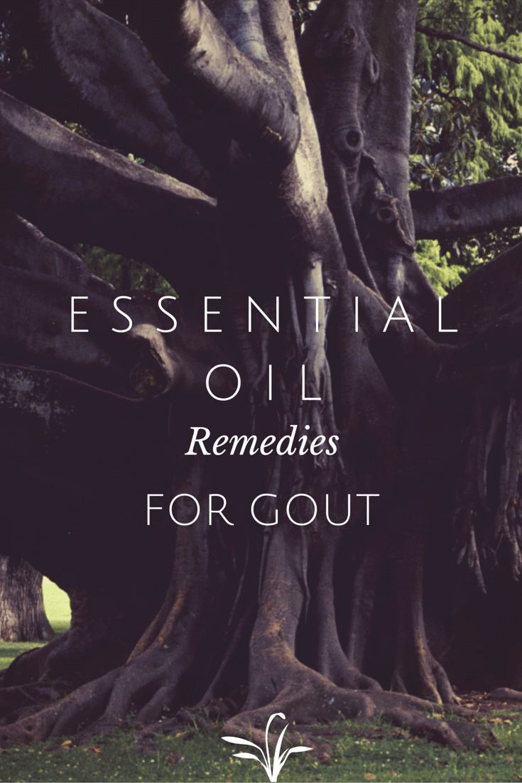 DIY Essential oil based remedies for gout