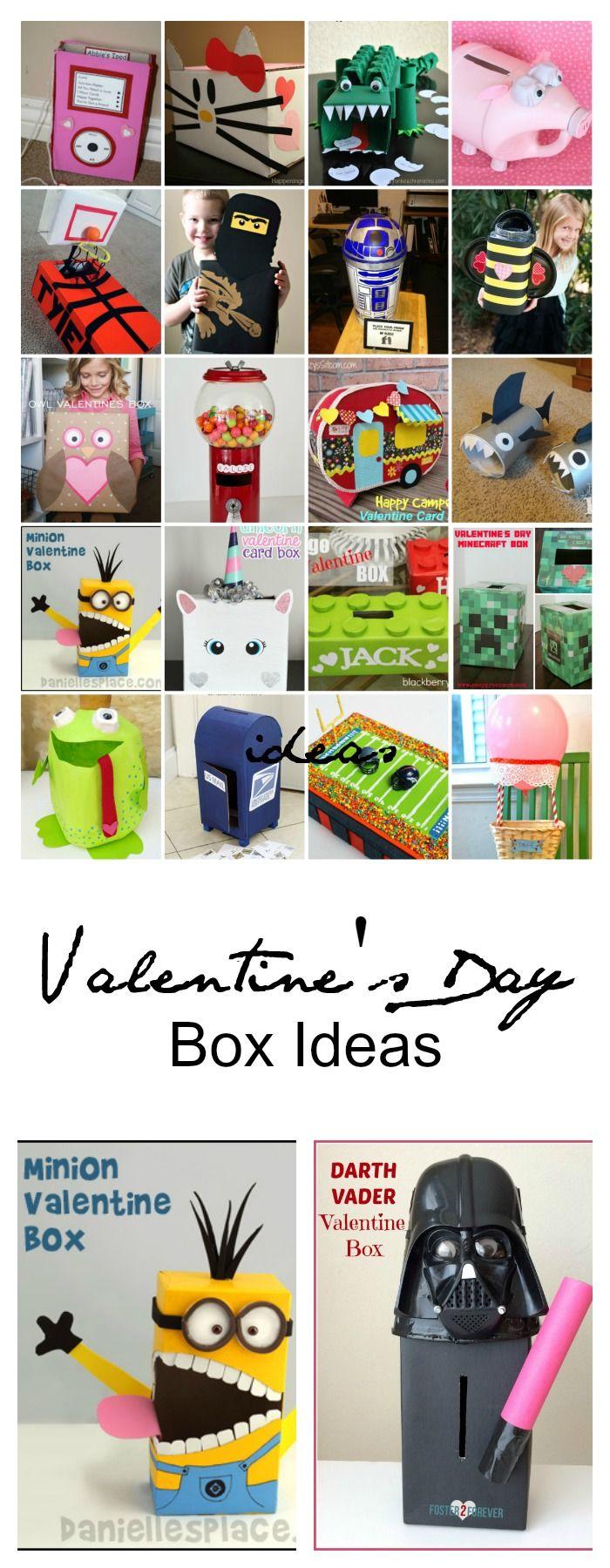 Valentine's Day Classroom Box Ideas - The Idea Room: