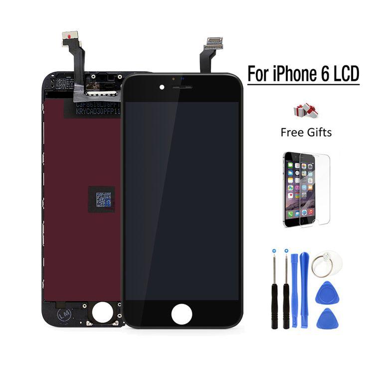 Meilleur AAA Qualité Pour apple iPhone 6 LCD pantalla ecran iphone6 Tactile Écran de remplacement Écran 4.7 ''Digitizer Assemblée