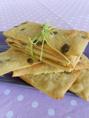 crackers di kamut all'olio con semi di zucca - facciamo che ero la cuoca