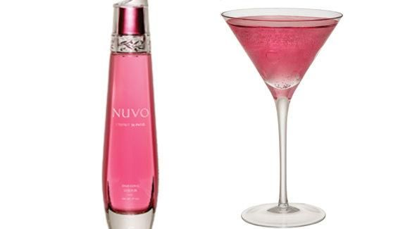 Nuvo Sparkling Liqueur -- Looks like a perfume bottle!!