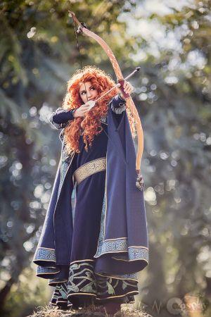 Princess Merida Costume Idea #Plus Size Halloween Costume Ideas #Halloween #Costumes #Women