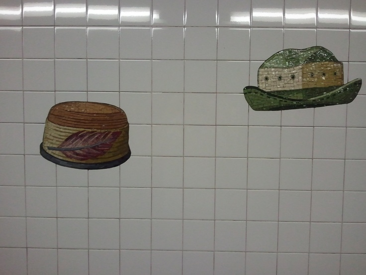 Mural at 23rd Street Station on N Line