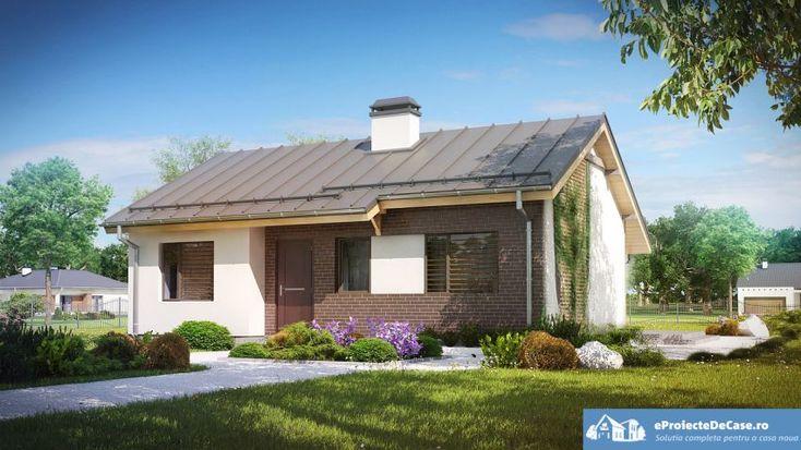 Proiecte de case de 60-70 mp - arhitectura moderna