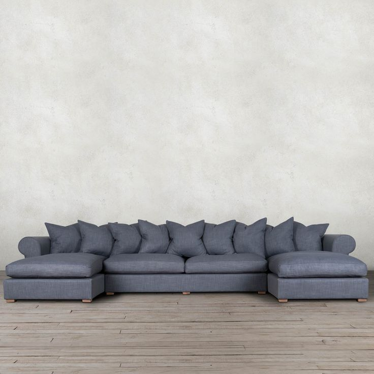 BRIGHTON  SECTIONAL SOFA R26995 Fabric L4000 x D 1900 x H 800