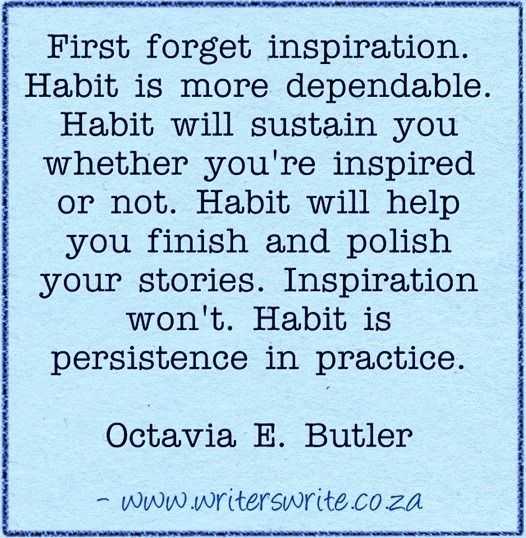 Quotable - Octavia E. Butler - Writers Write Creative Blog