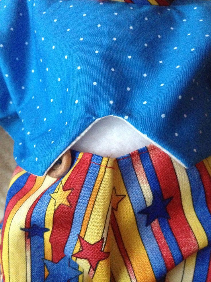 Kék kabát háta