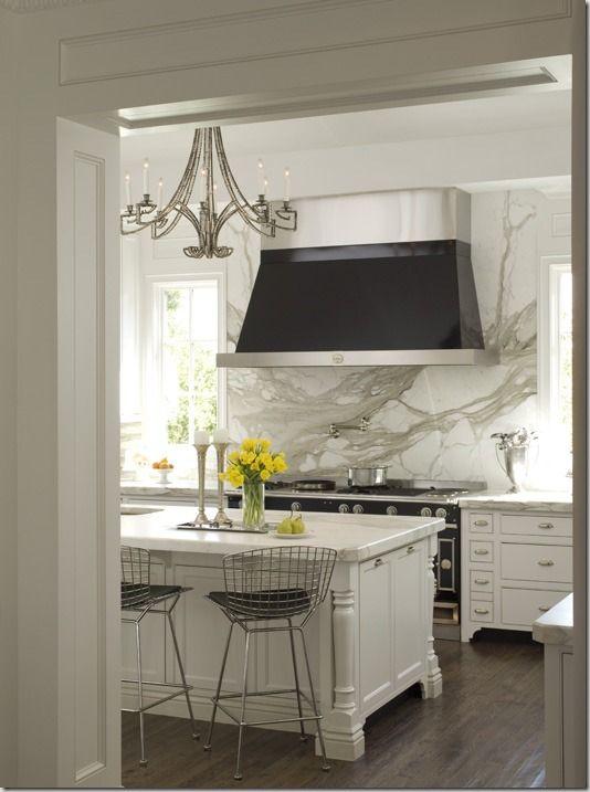 Kitchen Counter Backsplas With Wall Backsplash