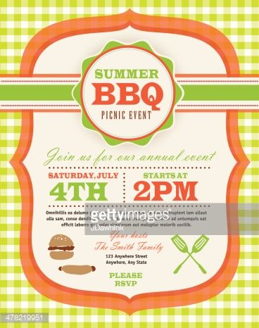 11 best Back to school picnic and fair images on Pinterest - picnic invitation template