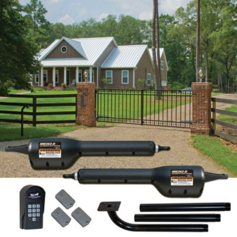 Mighty Mule® HFDCK362D Automatic Gate Opener Hobby Farmer Deluxe Combo Kit - Tractor Supply Co.