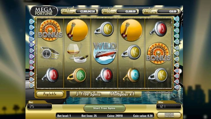 Epic Progressive Jackpots, Read our review of Mega Fortune!
