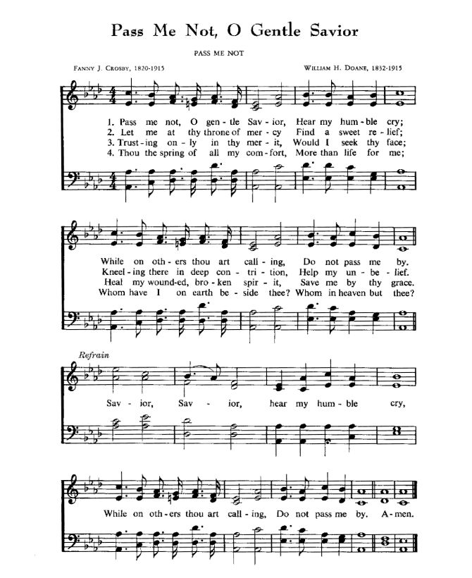 What are some well-known black gospel hymns?