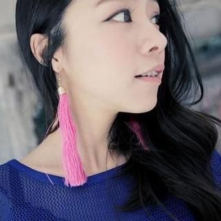 Buy 'Clair Shop – Tassel Earrings' at YesStyle.com plus more Taiwan items and get Free International Shipping on qualifying orders.
