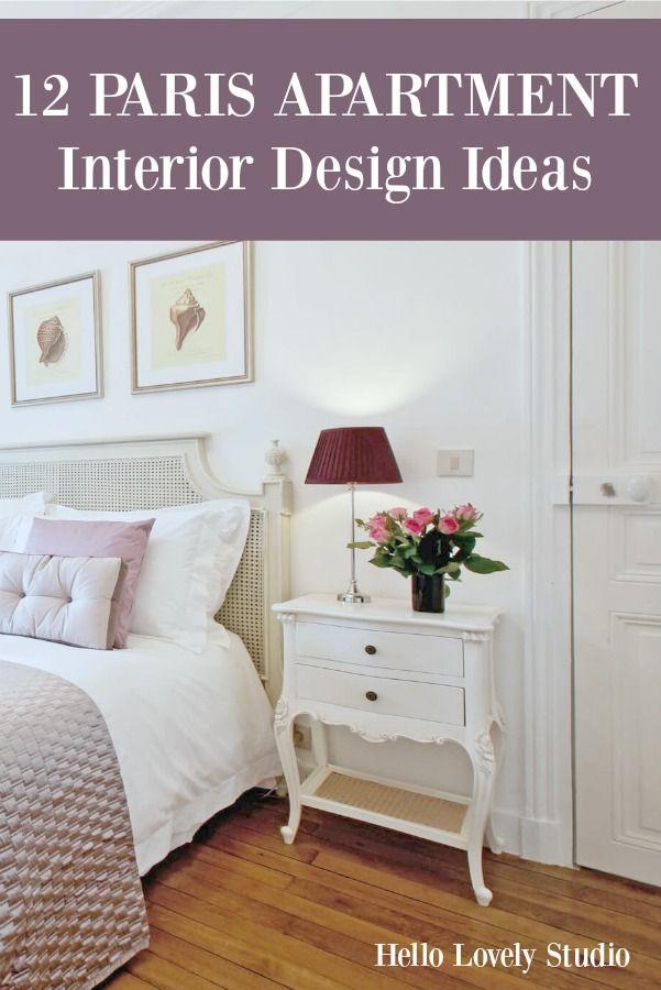 12 Paris Apartment Interior Design Ideas Posts from Hello Lovely