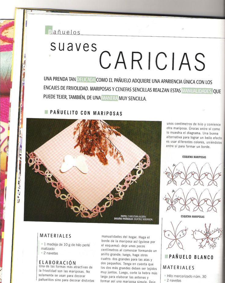 para descargar la revista con las explicaciones picar en este enlace: —descargar frivolité—