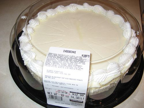 Costco Cheese Cake 25x13 325 Serves 300 To 480 Depending