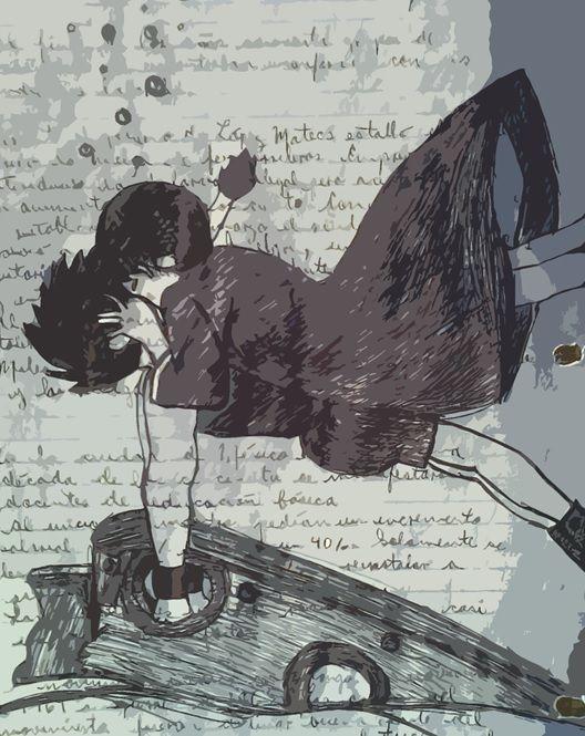 Conan el niño del futuro  Conan y Lana dibujo