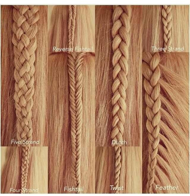 different types of braids you can try hair styles