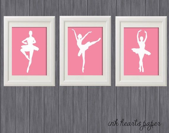 ballet bedroom diy wall hangings ideas - Google Search