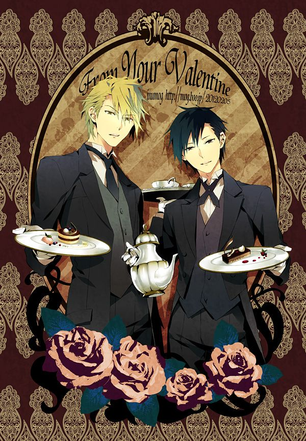 Shizuo and Izaya? Victorian style? I don't know what this is but it's amazing.