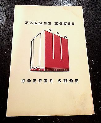 PALMER-HOUSE-Chicago-COFFEE-SHOP-Menu-RESTAURANT-1st-BROWNIE-Invented-HERE