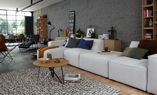 Woonkamer inspiratie #tafel #salontafel: The Cabinet, Living Sofas ...