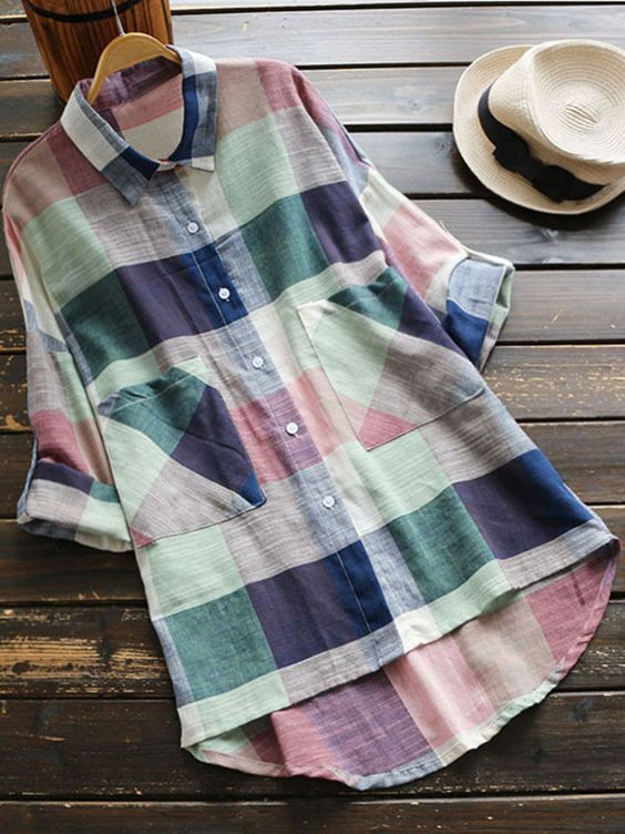 Every girl need plaid printing to decorate closet. Comfy and casual, it is the perfect option for the warm spring days. Find more similar items at Cupshe.com !