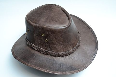 Full Leather Hat - Induna – zzambi.com