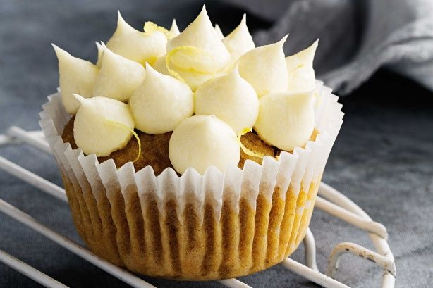 Pumpkin and walnut cupcakes - These cupcakes are particularly moist and delicious – the pumpkin flavour is barely noticeable. Add grated vegies and nuts for extra goodness.