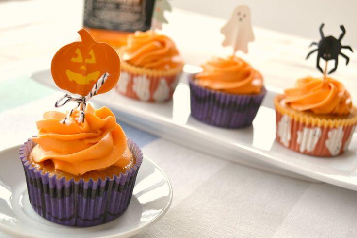 Cupcakes de Camote y Whisky…porque Halloween también es para grandes – Mi Vida…