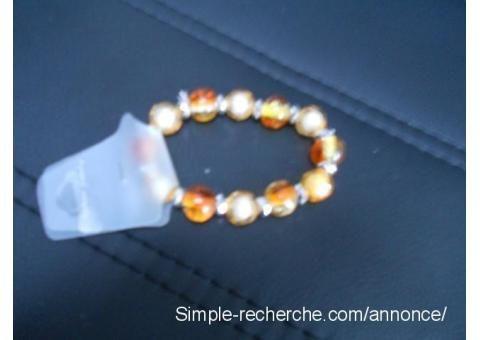 Bracelet perlé sabrininord Auby - Simple recherche petite annonce