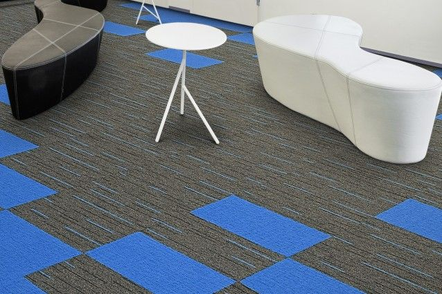 Alloy from the Zipline carpet tile range from Carpets Inter. Available in Australia from Above Left.
