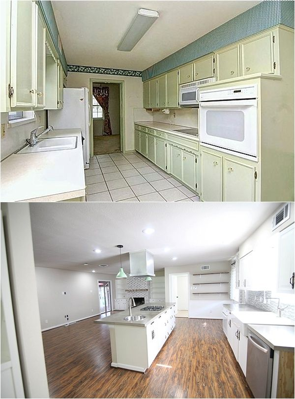 I have been looking at this blog all day!! Look at these insane before and after picture. Unbelievable!! Complete with list and link for every project.
