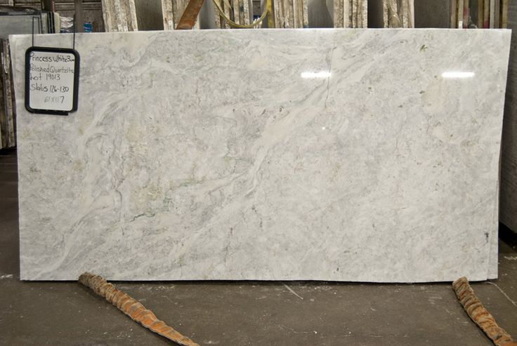 Princess White-polished quartzite http://www.tmsupply.com ...