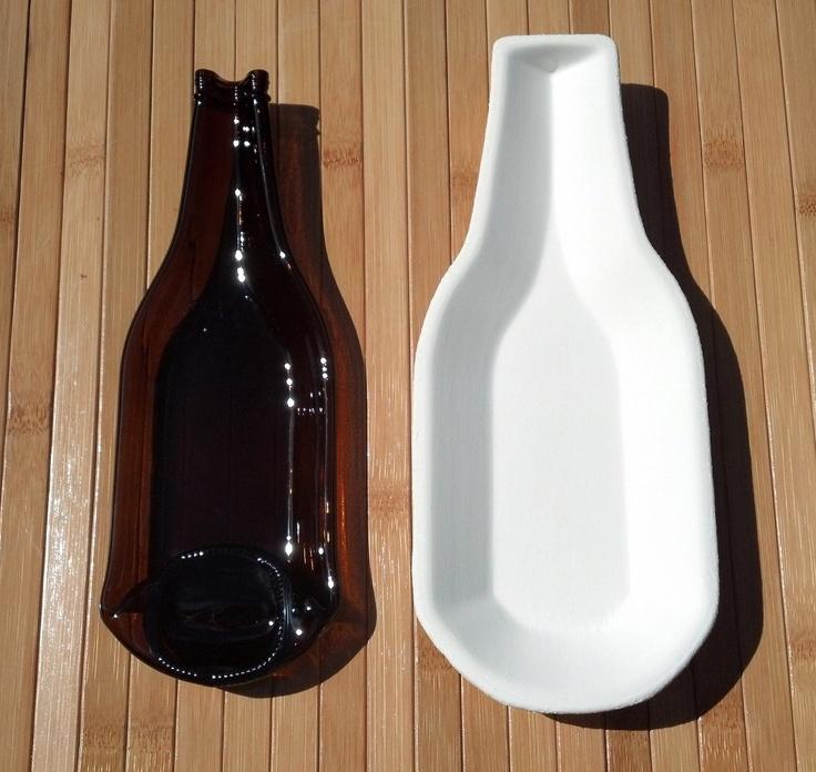 STONEWARE 12oz Domestic Beer Bottle Slumping Mold. $14.99, via Etsy.
