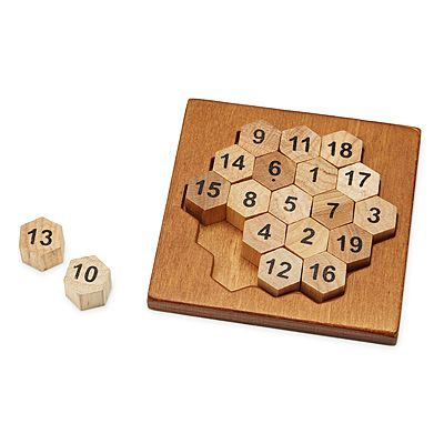 Look what I found at UncommonGoods: aristotle's number puzzle... for $15 #uncommongoods